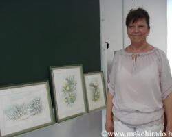 Akvarellfestőtől tanultak a Bagolyvár diákjai