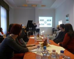 Vendégek a szerbiai Kragujeváci Egyetemről