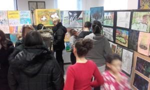 Az Almási tagintézmény félévi kiállítása